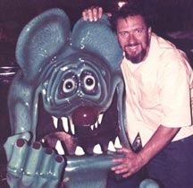 """Big Daddy"" and Rat Fink Show Car"