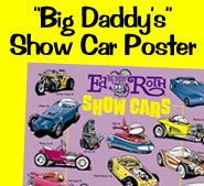 """Big Daddy's Show Car Poster"